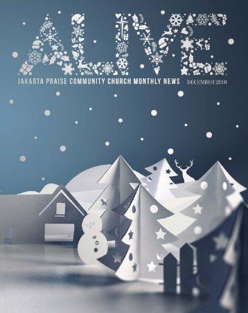 JPCC ALIVE December 2016