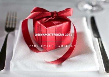 Weihnachtsfeiern im Park Hyatt Hamburg - Hyatt Hotels and Resorts
