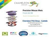 Precision Mouse Mats - Chameleon Print Group