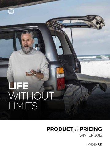 Widex Price List 2016 final
