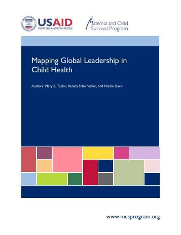 Mapping Global Leadership in Child Health