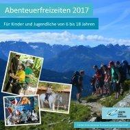 Abenteuerfreizeiten Katalog 2017