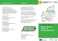 Wegweiser für Jugendliche: Wohin nach der Schule im Kreis Euskirchen?