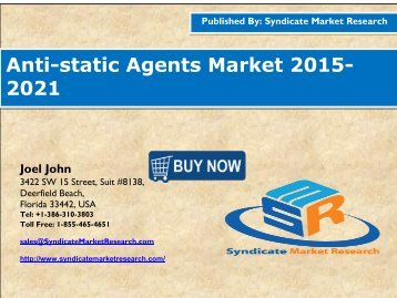 Anti-static Agents Market