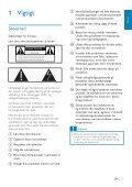 Philips Streamium Chaîne sans fil pour Android™ - Mode d'emploi - DAN - Page 5