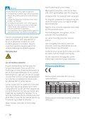 Philips Streamium Chaîne sans fil pour Android™ - Mode d'emploi - DAN - Page 6