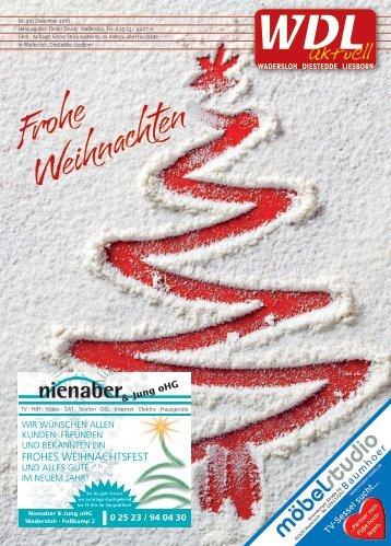 WDL-aktuell Dezember 2016