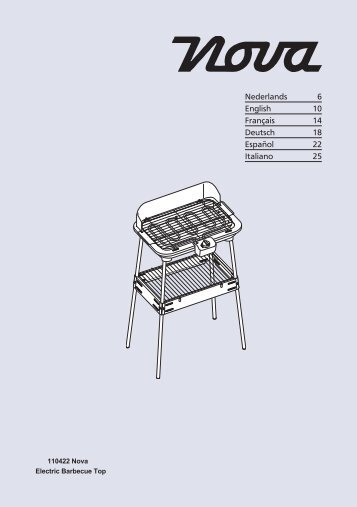 electric grill owner u0026 39 s guide