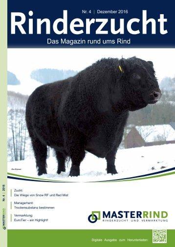 Rinderzucht-Magazin 4-2016