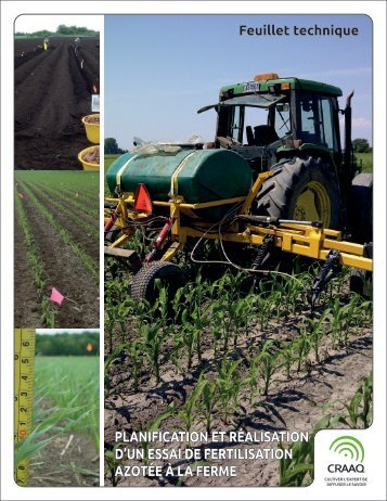 Planification et réalisation d'un essai de fertilisation azotée à la ferme