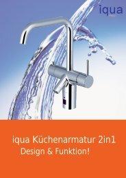 iqua Küchenarmatur 2in1