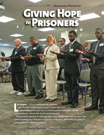 Giving Hope Prisoners