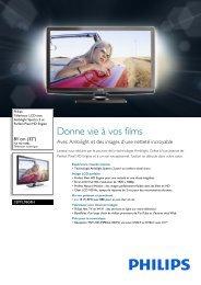Philips TV LCD - Fiche Produit - FRA