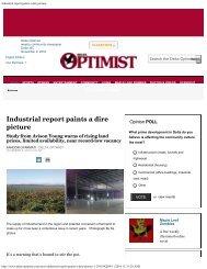 Industrial report paints a dire picture