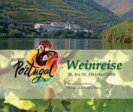 Weinreise Portugal 2016 Fotobuch