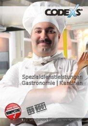 Flyer Gastronomie 02 - Codexs GmbH