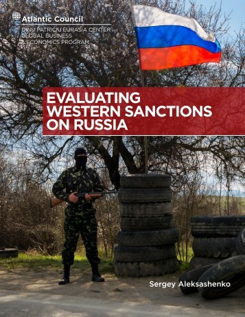 WESTERN SANCTIONS ON RUSSIA