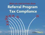 Referral Program Tax Compliance