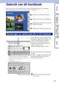 Sony DSC-TX7 - DSC-TX7 Istruzioni per l'uso Olandese - Page 2