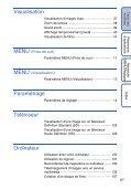 Sony DSC-TX7 - DSC-TX7 Istruzioni per l'uso Francese - Page 6