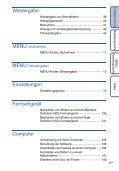 Sony DSC-TX7 - DSC-TX7 Istruzioni per l'uso Tedesco - Page 6
