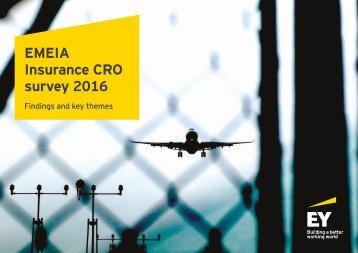 EMEIA Insurance CRO survey 2016