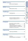 Sony DSC-TX7 - DSC-TX7 Istruzioni per l'uso Danese - Page 6
