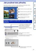 Sony DSC-TX7 - DSC-TX7 Istruzioni per l'uso Ceco - Page 2
