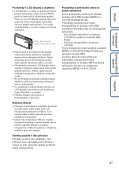 Sony DSC-TX7 - DSC-TX7 Istruzioni per l'uso Ceco - Page 4