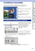 Sony DSC-TX7 - DSC-TX7 Istruzioni per l'uso Ungherese - Page 2