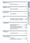 Sony DSC-TX7 - DSC-TX7 Istruzioni per l'uso Finlandese - Page 6