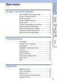 Sony DSC-TX7 - DSC-TX7 Istruzioni per l'uso Polacco - Page 5