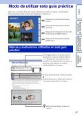 Sony DSC-TX7 - DSC-TX7 Istruzioni per l'uso Spagnolo - Page 2