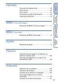 Sony DSC-TX7 - DSC-TX7 Istruzioni per l'uso Spagnolo - Page 6