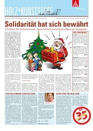 Holz und Kunststoff aktuell - IG Metall 4 you