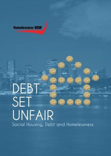 DEBT SET UNFAIR