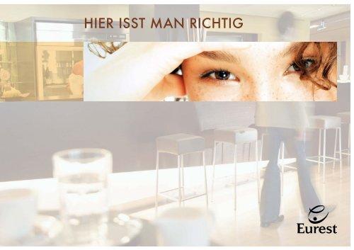 HIER ISST MAN RICHTIG - Eurest