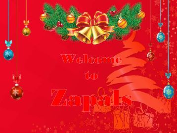 Special Christmas Sale at Zapals