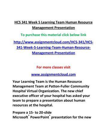 hrm 300 week 1 learning team Hrm 300 week 5 learning team sustaining employee performance paper  hrm 300 week 4 learning team human resource management training presentation.