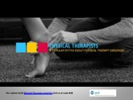 Myths About Physical therapy email list