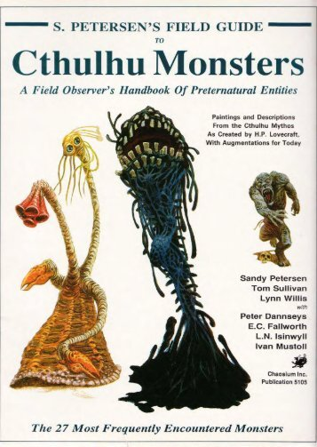 Field Guide to Cthulhu Monsters