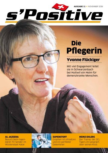 s'Positive Magazin 11.2016