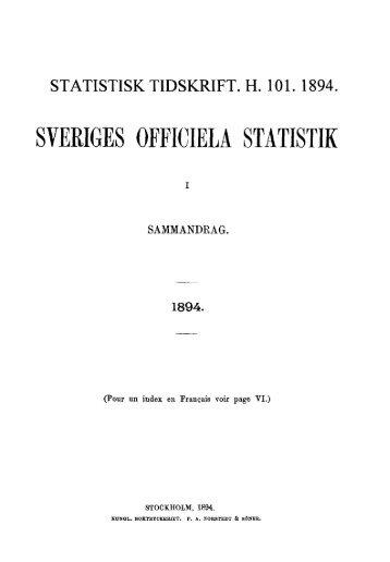Sweden Yearbook - 1894
