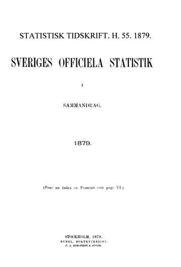 Sweden Yearbook - 1879