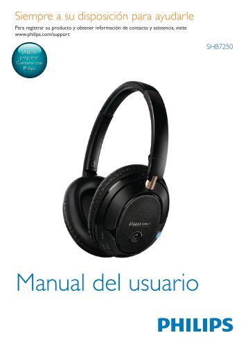Philips Casque Bluetooth® sans fil - Mode d'emploi - ESP