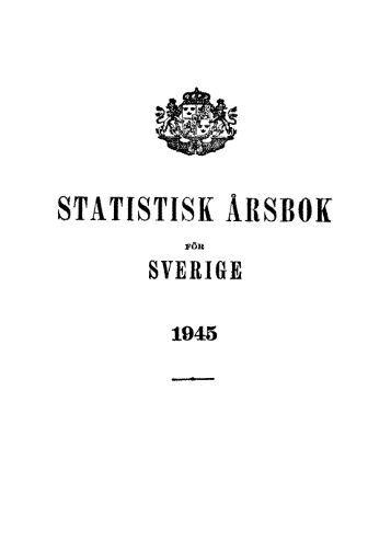 Sweden Yearbook - 1945