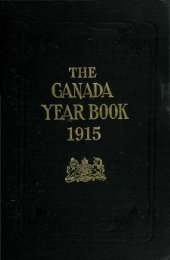 Canada Yearbook - 1915