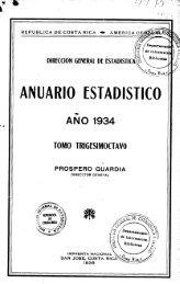 Costa Rica Yearbook - 1934
