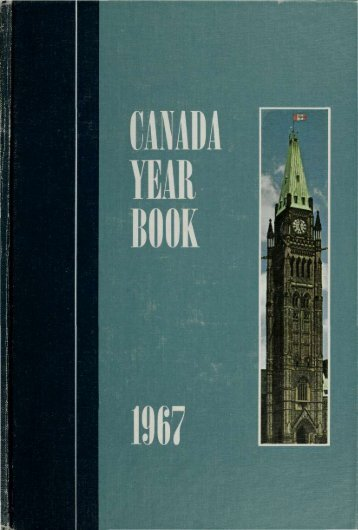 Canada Yearbook - 1967