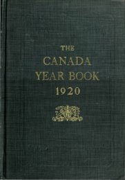 Canada Yearbook - 1920